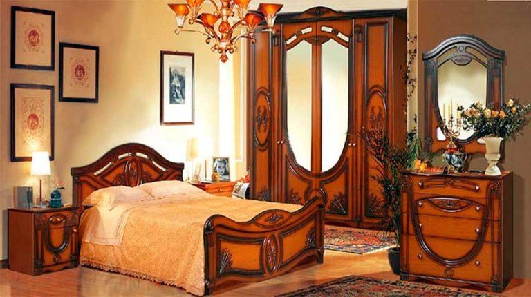 Спальный гарнитур Александрина 2