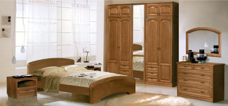 Спальный гарнитур Анастасия